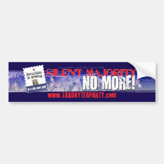 Tea Party URL bumper sticker
