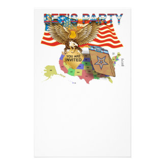 Tea-Party-Version-1 Personalised Stationery
