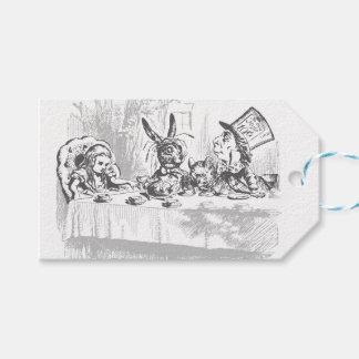 Tea Party Vintage Alice in Wonderland Gift Tags