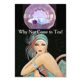 TEA PARTY - WEDDING - ENGAGEMENT GATHERING CARD