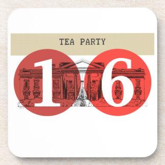 Tea Party White House 2016 Beverage Coaster