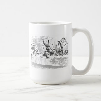 Tea Party with the Hatter Coffee Mug