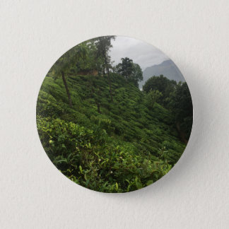 Tea Plantation 6 Cm Round Badge