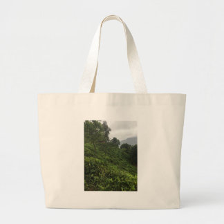 Tea Plantation Large Tote Bag