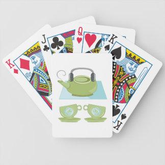 Tea Pot Bicycle Playing Cards