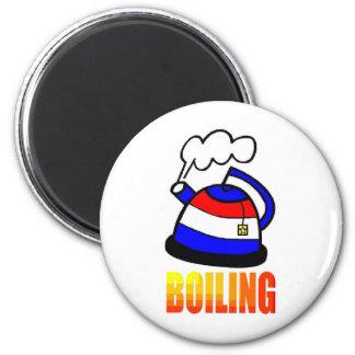 Tea pot is boiling - Tea Party Magnet