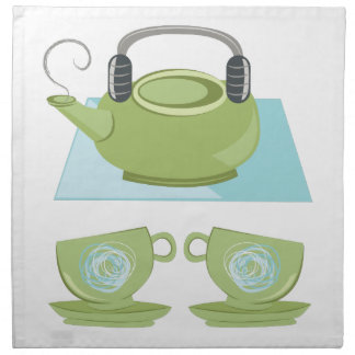 Tea Pot Napkin