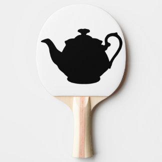 tea pot ping pong paddle