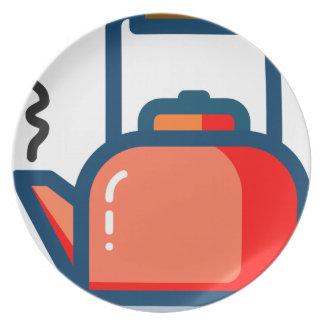 Tea Pot Plate