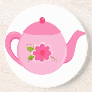 Tea pot Sandstone Coaster