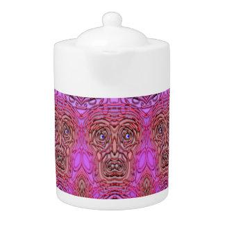 Tea Pot: Spooky Face.