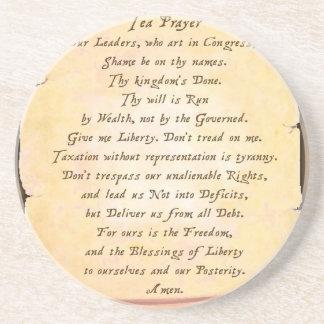 Tea Prayer Coasters