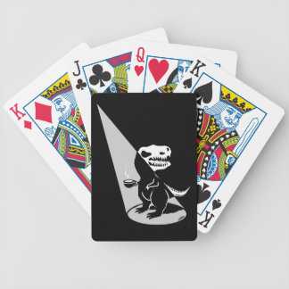 Tea Rex show time Bicycle Playing Cards