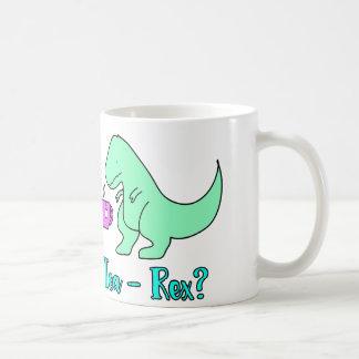 Tea-Rex T-Rex Cute Dinosaur Tea mug