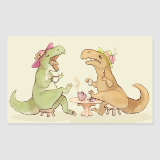 Tea Rexes Stickers