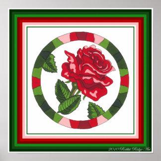 Tea Rose Print