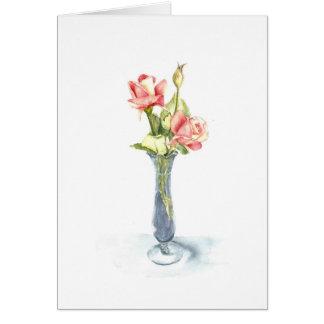 Tea Roses  notecards Card