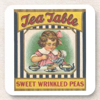 Tea Tabls Sweet Wrinkled Peas Drink Coaster