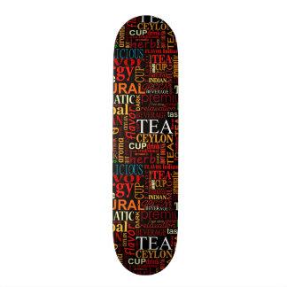 Tea tags skateboard decks