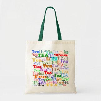 Tea Tea Tea! Budget Tote Bag