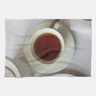 tea teacup tea towel