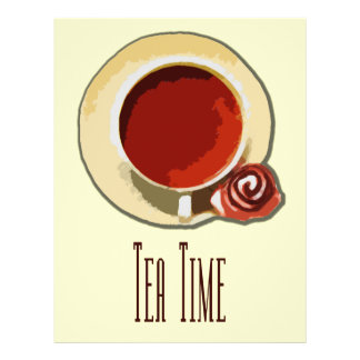 Tea Time 21.5 Cm X 28 Cm Flyer