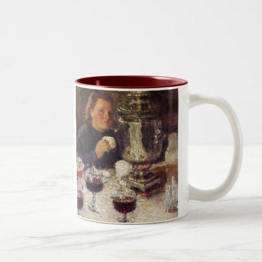Tea Time: A Samovar by Igor Grabar Coffee Mug