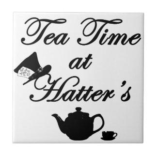 Tea Time at Hatter's Tile
