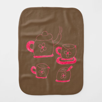 Tea Time Babies Burb Bib