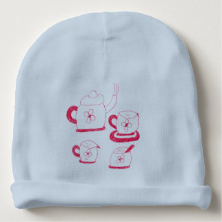 Tea Time Babies Hat Baby Beanie
