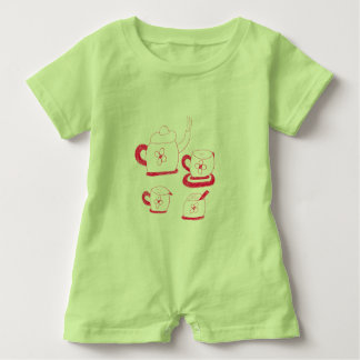 Tea Time Babies Rompa Suit Baby Bodysuit