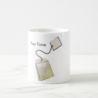 Tea Time Basic White Mug