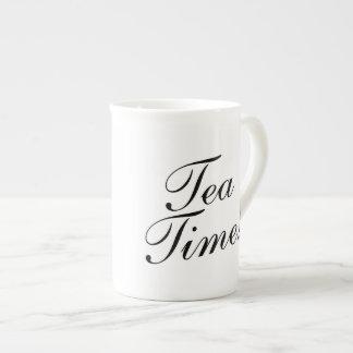 TEA TIME bone china specialty mug gift idea
