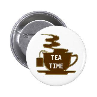 Tea Time - Button
