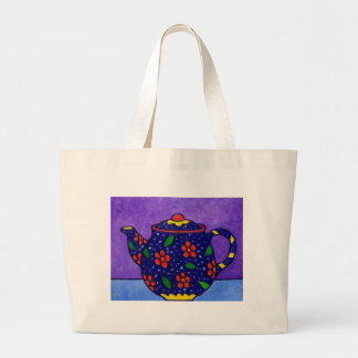 Tea Time by Piliero Canvas Bag