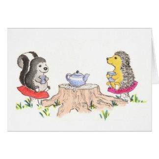 Tea Time Card