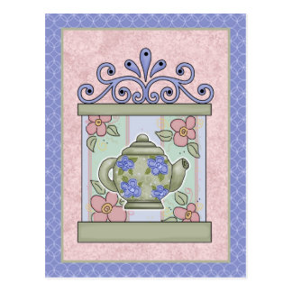 Tea Time Cards, Postage, Tees, GIfts Postcard