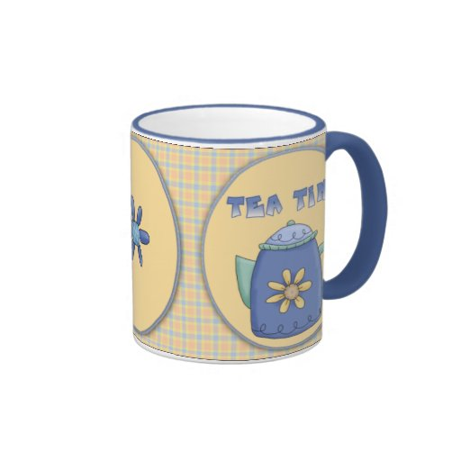 Tea Time Ceramic Mug