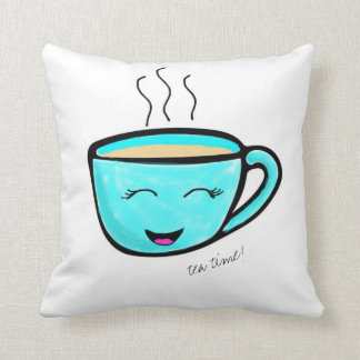Tea time! cushion