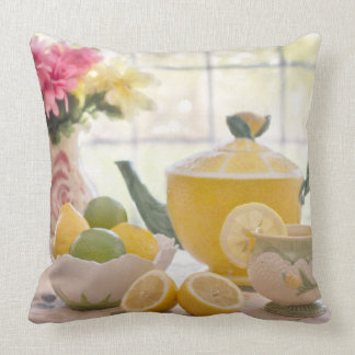 Tea Time Decorative Accent Throw Pillow Decor