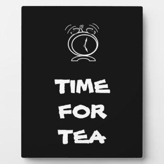 Tea Time Display Plaques