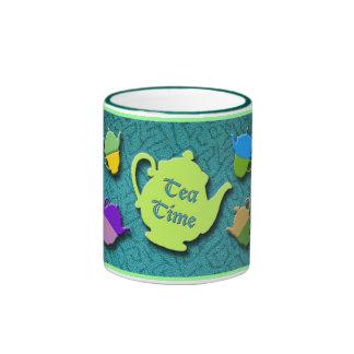 Tea Time Green mug
