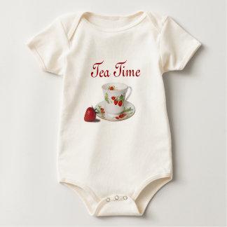 Tea Time infant onsie creeper