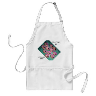 Tea time is Cupcake time Adult Apron