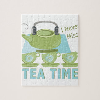 Tea Time Jigsaw Puzzle