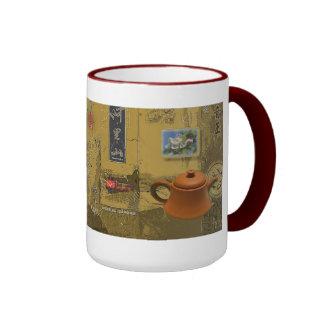 Tea Time Ringer Mug