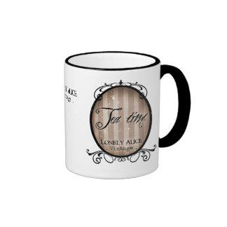 """""""Tea Time"""" Ringer Mug"""