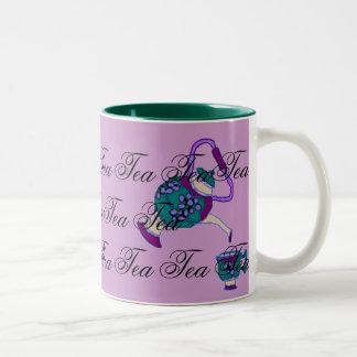 Tea Time Two-Tone Mug