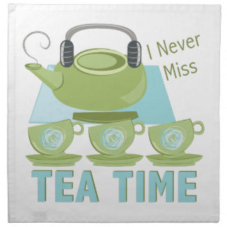 Tea Time Napkin