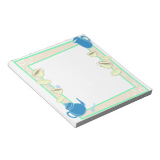 Tea Time Notepad